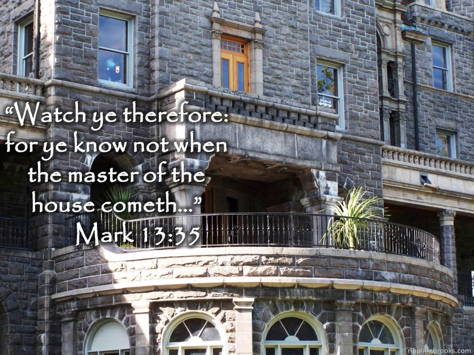 Mark 13:35