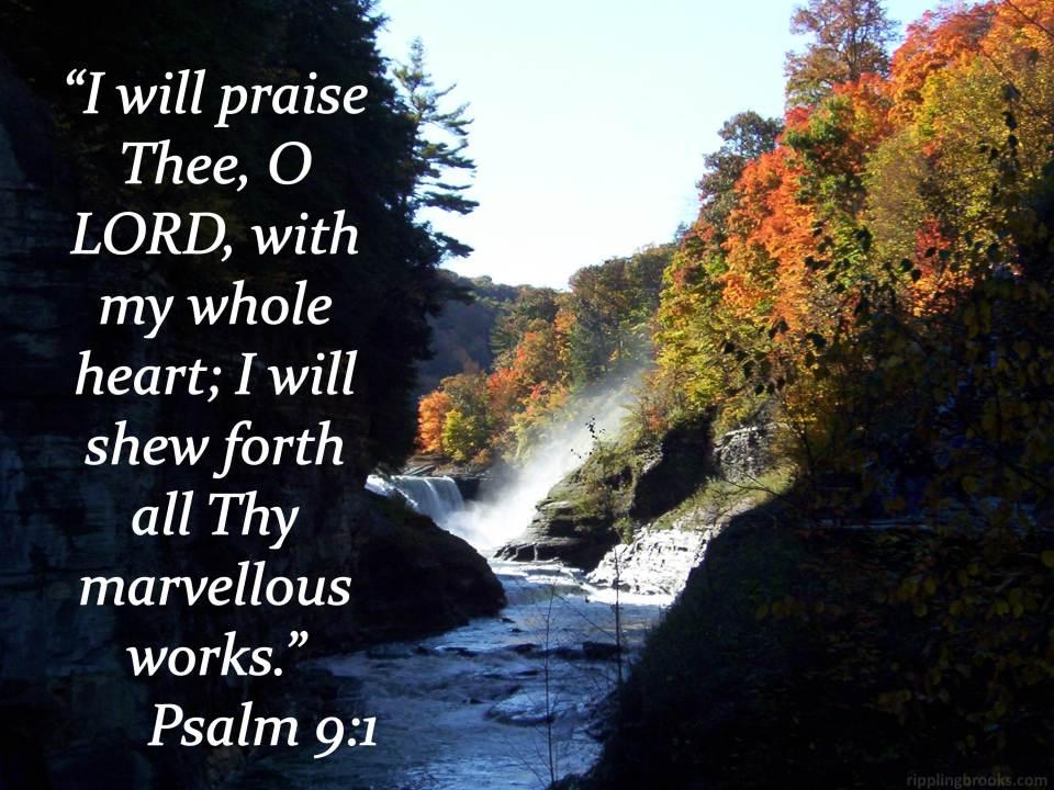 Psalm 9:1