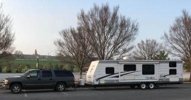suburban and travel trailer