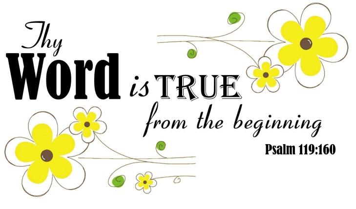 Psalm 119:160