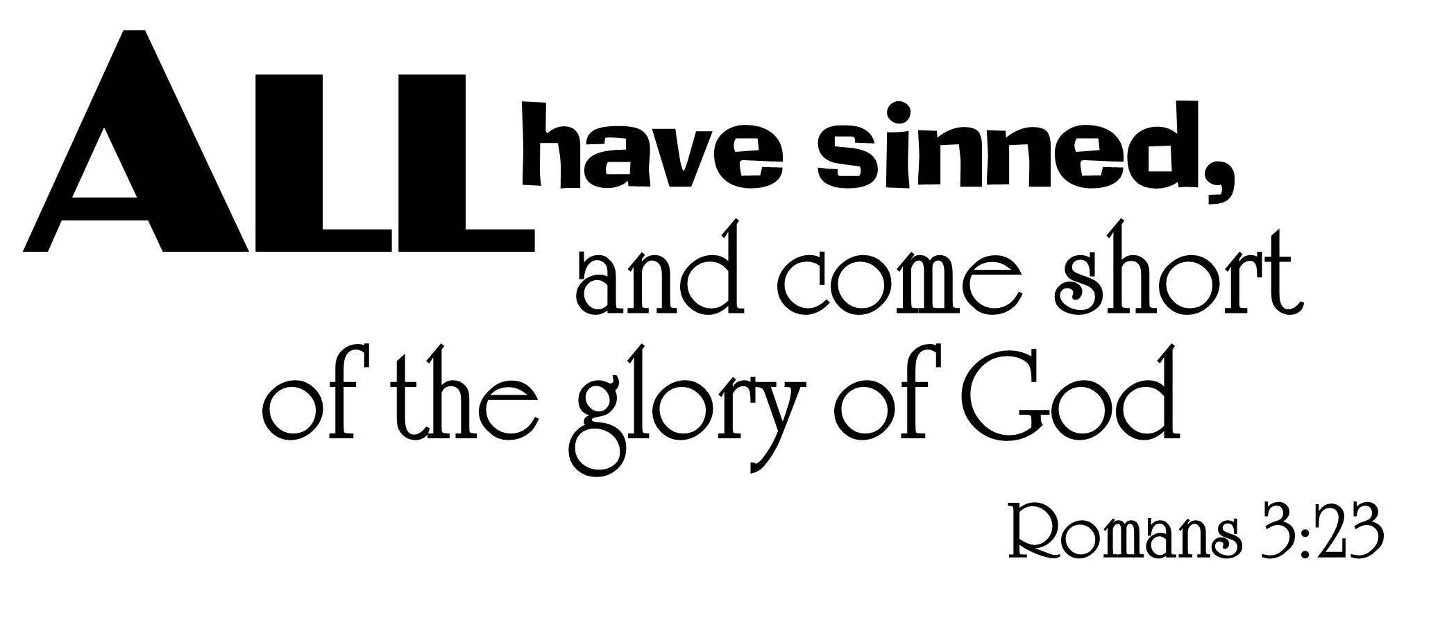 Romans 3:23