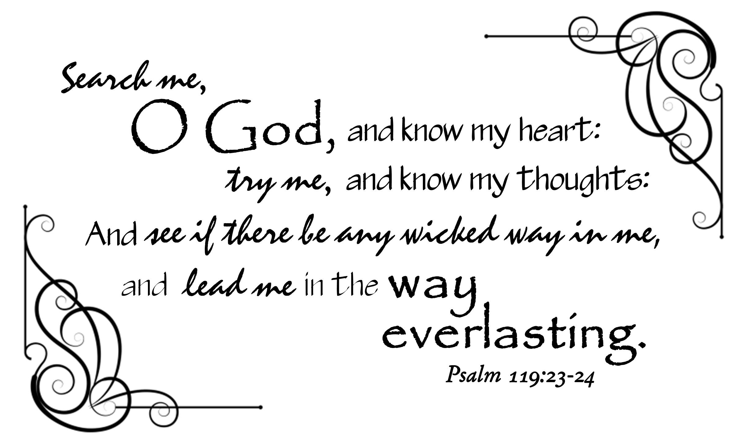 Psalm 119:23-24