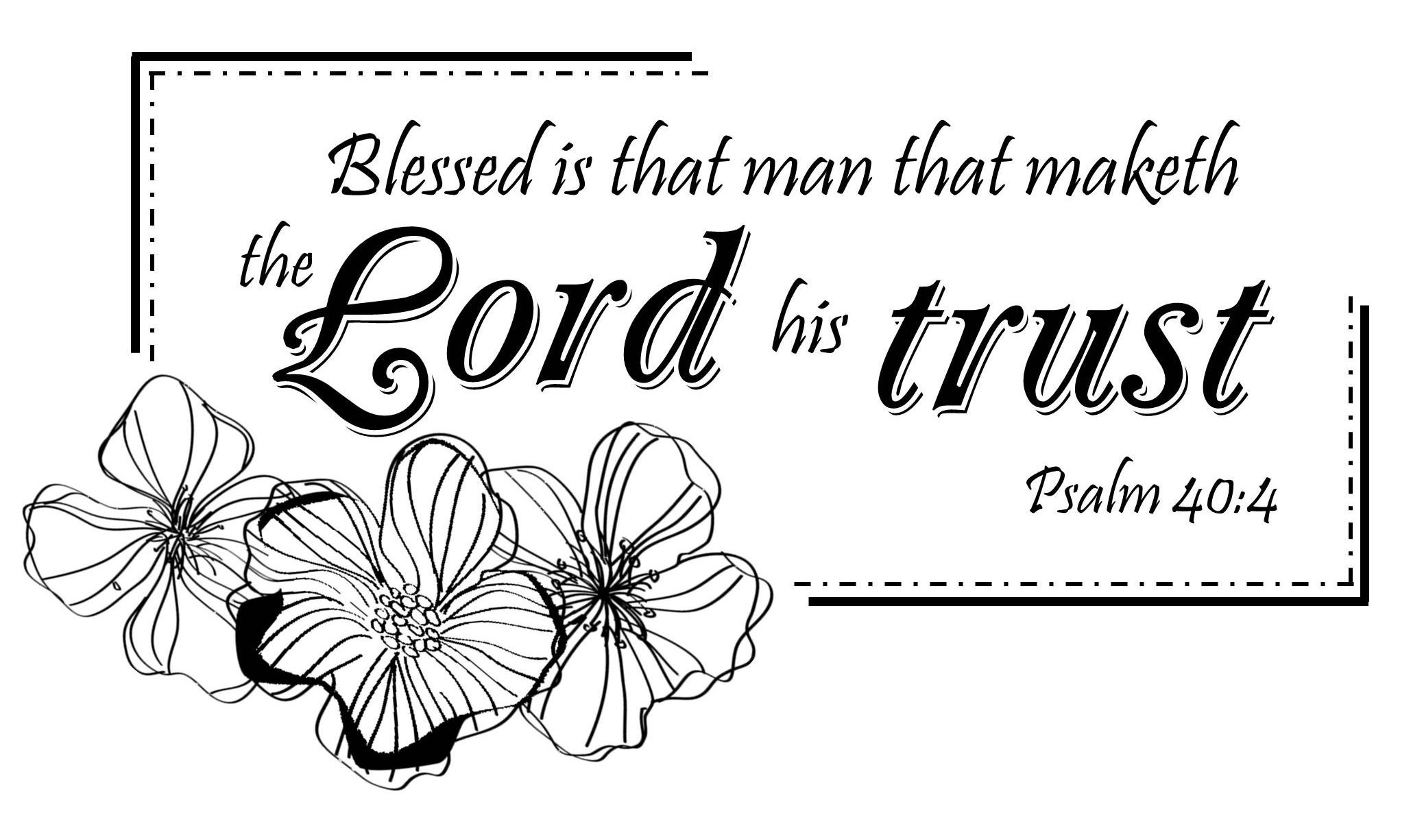 Psalm 40:4