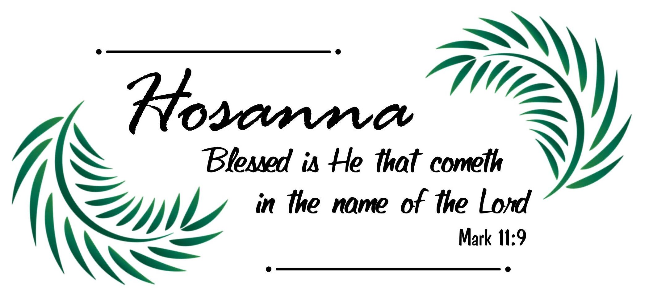 Mark 11:9