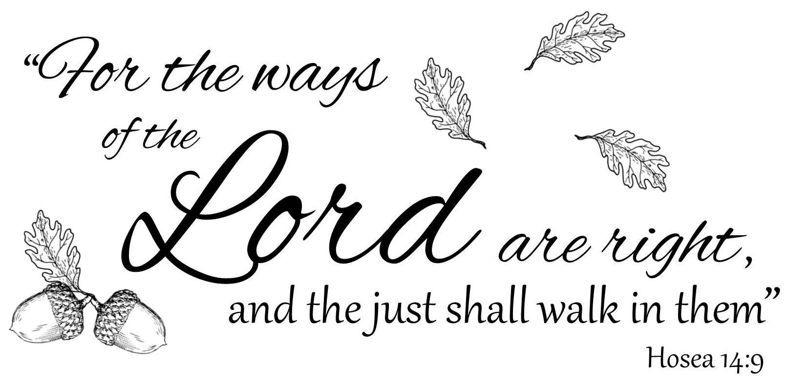 Hosea 14:9